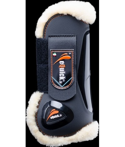 eQuick eLight Tendon Boots Sheepskin