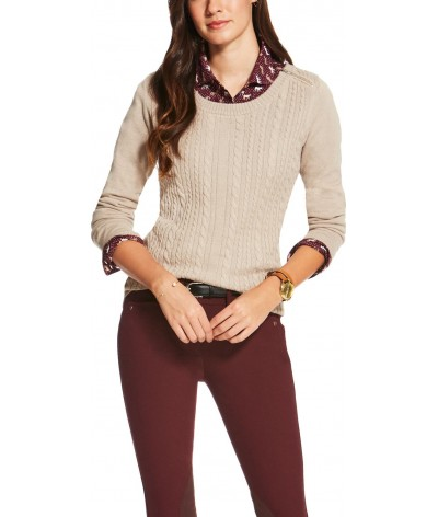 Ariat Suplimo Cable Knit Trui