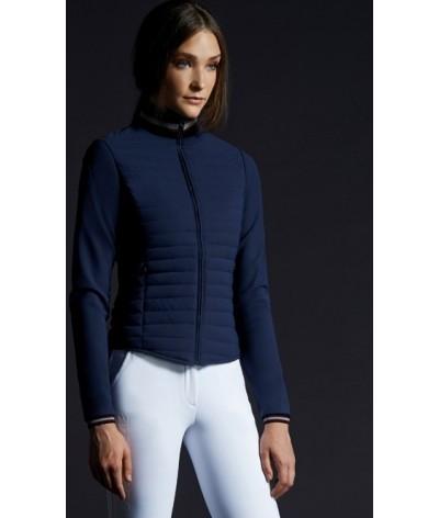 Cavalleria Toscana Detachable Sleve Down Jacket Blue