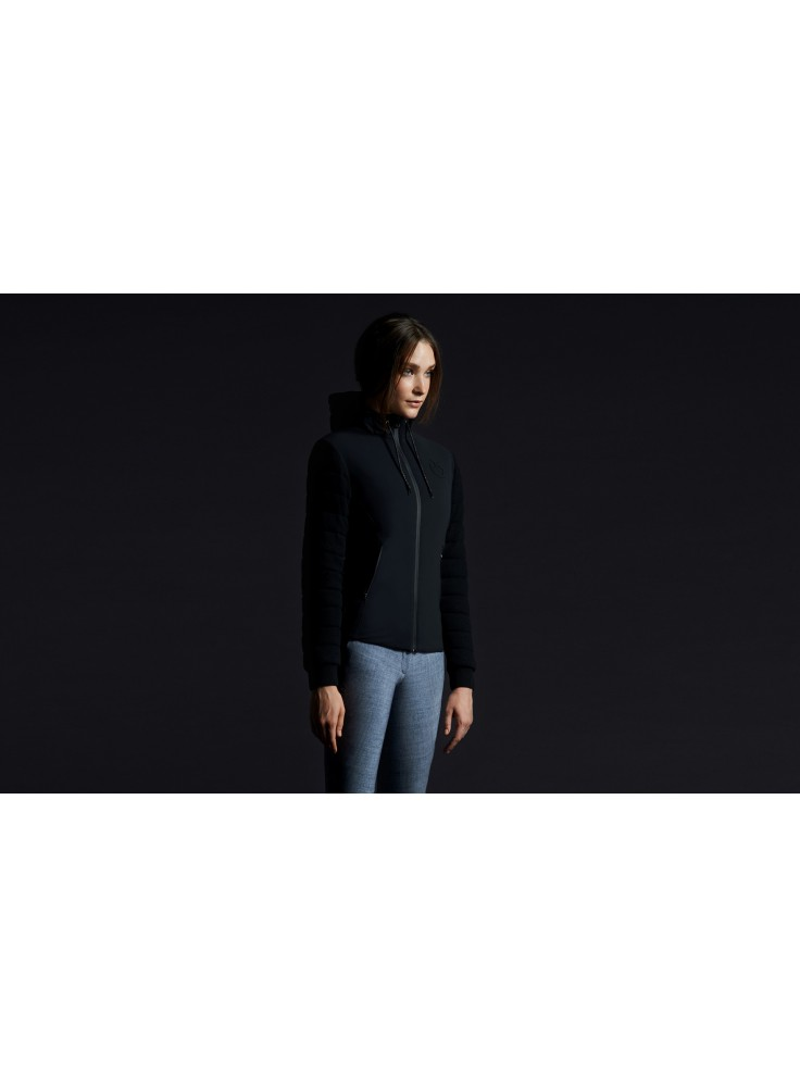 Cavalleria Toscana Stretch Jersey Hooded Jas