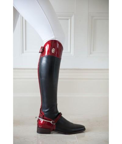 Secchiari Riding Boots Red Saffiano