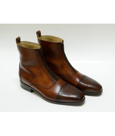 Secchiari Jodhpurs Antique Brogue 1 zip