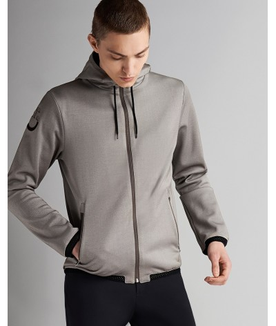 Cavalleria Toscana Piquet Zip Sweatshirt Men