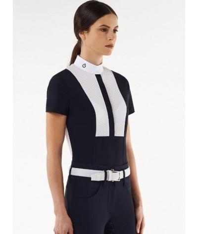 Cavalleria Toscana Jersey Jaquard Wedstrijd Shirt