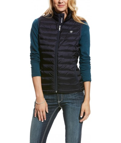 Ariat Dames Ideal Down Bodywarmer Overall Navy