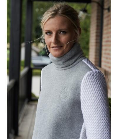 Cavalleria Toscana Soft Fleece Turtleneck Sweter