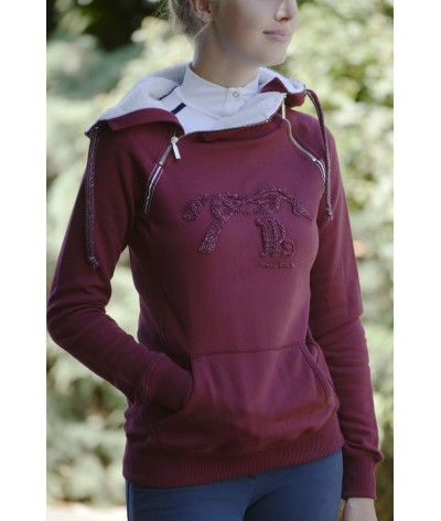 Pénélope Leprevost Trui Sweat Double Zip