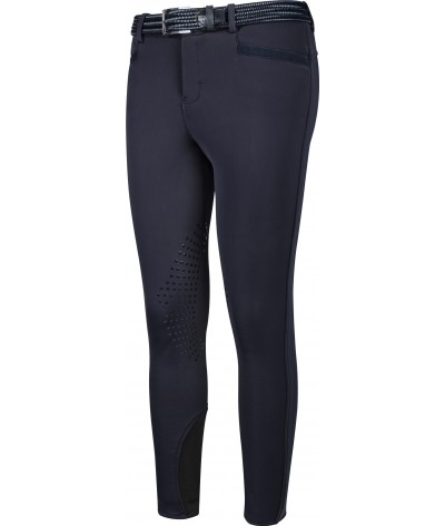 Equiline Boys Riding Breeches Logan Knie Grip