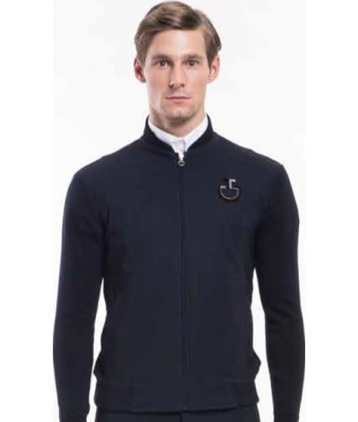 Cavalleria Toscana Performed Technical Zip Sweater