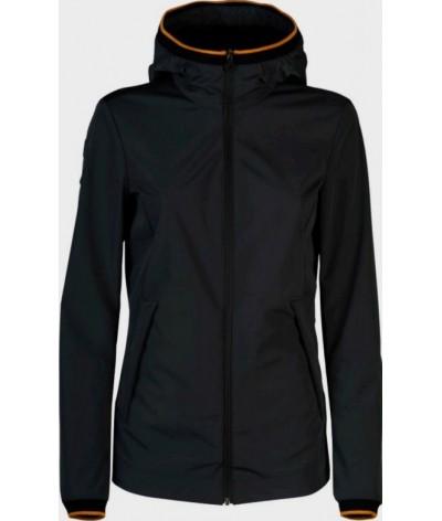 Cavalleria Toscana Nylon Hooded Side Zip Jacket