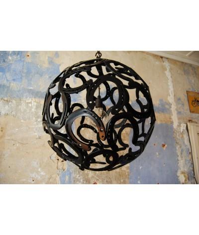 Hoefijzer Hanglamp Roestkleur