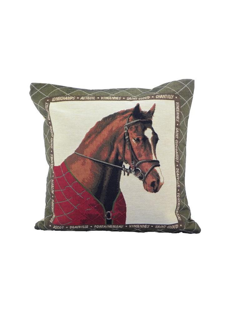 Mars & More Kussen Paard Rode Deken