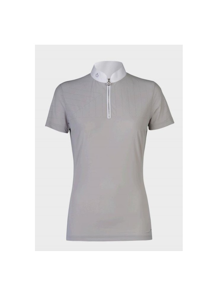 1d14391c80c9 Cavalleria Toscana Perforated Sailing Jersey Competition Polo
