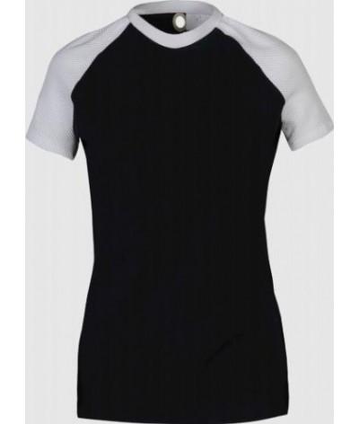 Cavalleria Toscana Raglan Mesh Sleeve T-shirt