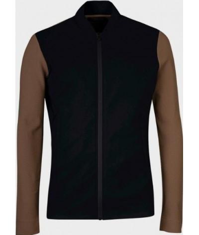 Cavalleria Toscana Embossed Jersey Jacket Men