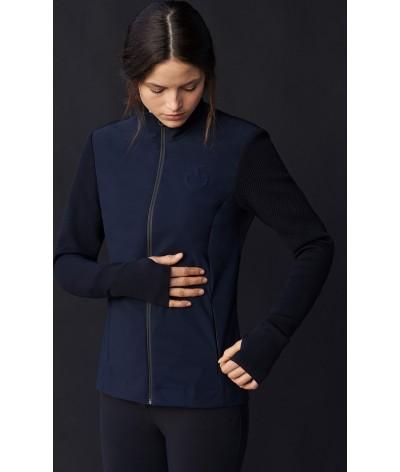 Cavalleria Toscana Tech Knit Jersey Jacket