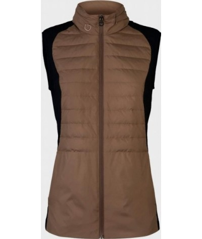Cavalleria Toscana Lightweight Down Puffer Vest in Nylon Women
