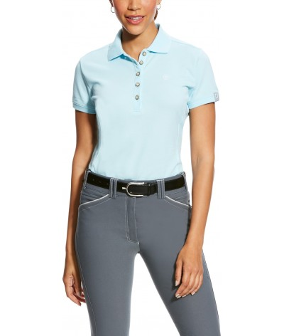 Ariat Women's Prix Polo Sky Drift