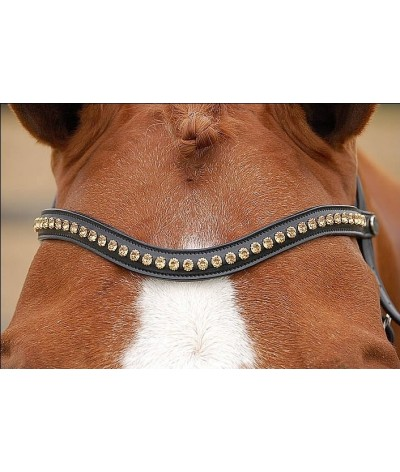 Dyon Browband 'Gold' Dressage Collection'