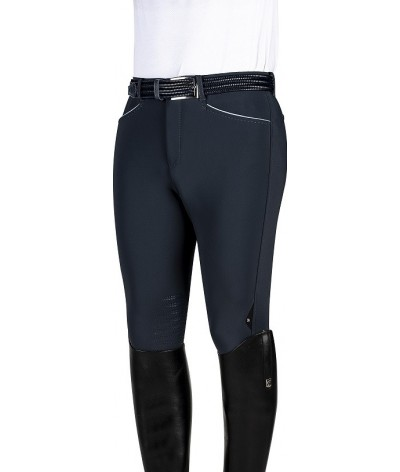 Equiline Men's Soft Shell Riding Breeches Philipp Knee Grip