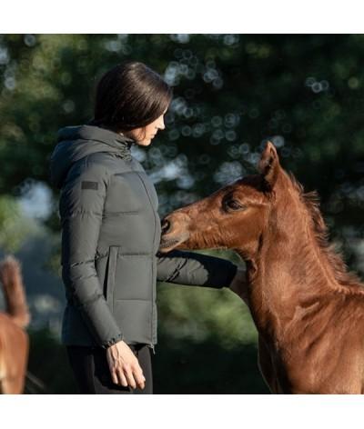 Cavalleria Toscana Down Paddad Jacket With Hood