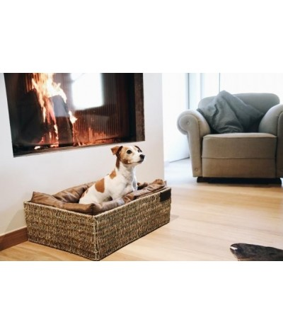 "Kentucky Dog Bed ""Basket"" Large"