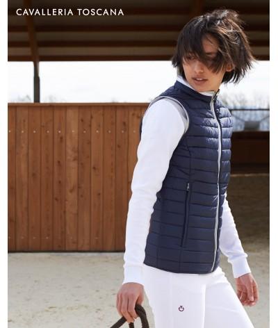 Cavalleria Toscana Ultralight Packable Quilted Puffer vest