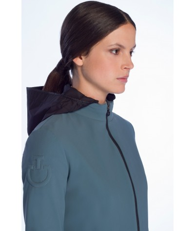 Cavalleria Toscana Women's Softshell Warm-Up Jacket