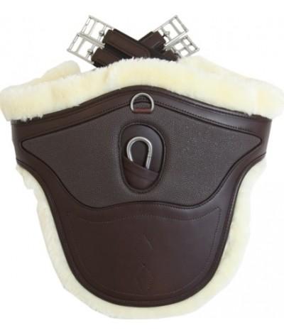 Buiklapsingel Sheepskin Special bruin