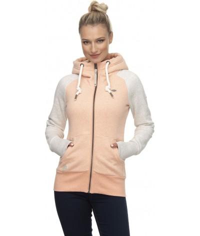 Ragwear Dames Vest Neska Zip Twotone