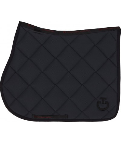 Cavalleria Toscana Jersey Quilted Rhombi Dressage Saddle Pad