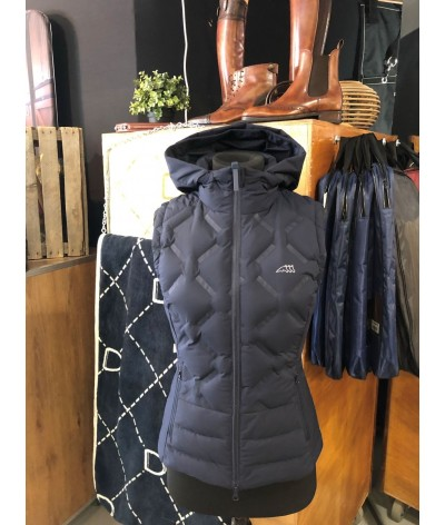 Equiline Down Vest Donkerblauw XS