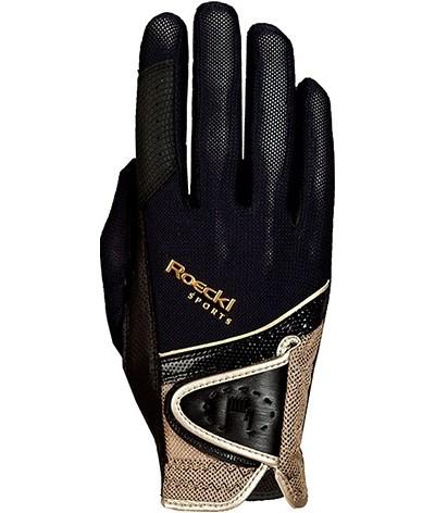 Roeckl Madrid Gloves Black Gold