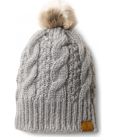 Ariat Cable Beanie Sleet