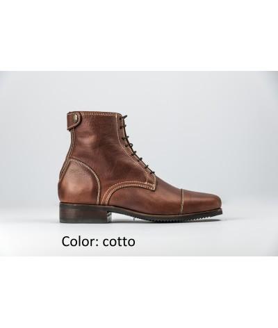 Secchiari Classic Ankle Boot Ingrassato Square