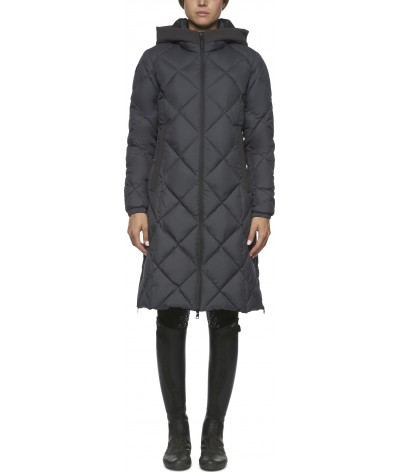 Quilted Nylon Hooded Parka...