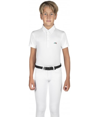 Equiline Junior Boy's Polo...