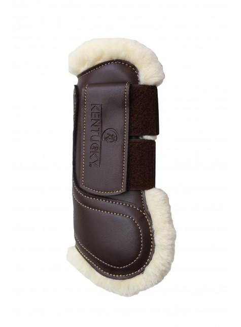 Kentucky Velcro Lederen Peesbeschermers