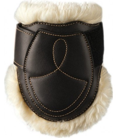 Kentucky Sheepkin Leather Fetlock Boots Velcro