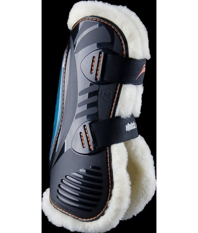 eQuick eShock Sheepskin Front Tendon Boots