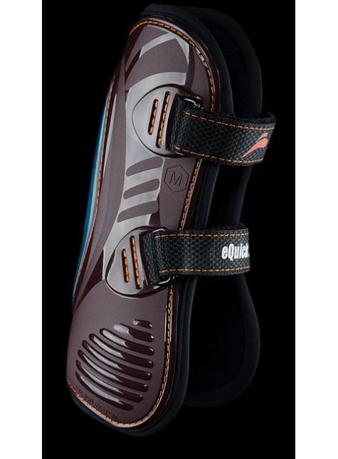 eQuick eShock Front Tendon Boots Velcro