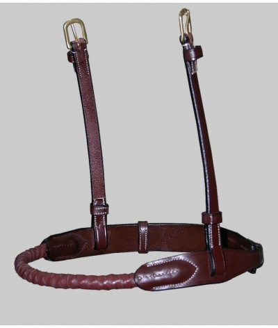 Dyon Rope Leather Covered Noseband 'Dyon Collection'