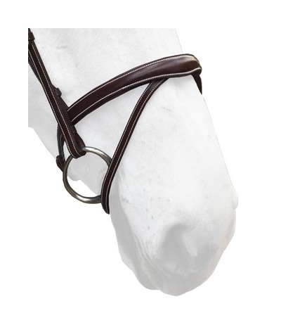 Silver Crown Noseband Flash...
