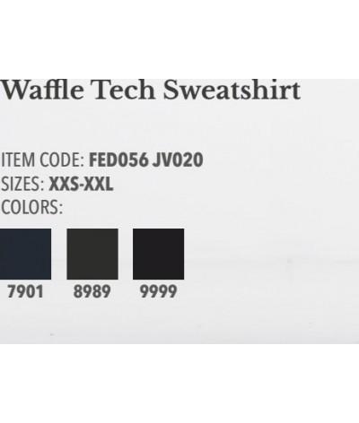 Cavalleria Toscana Waffle Tech Sweatshirt
