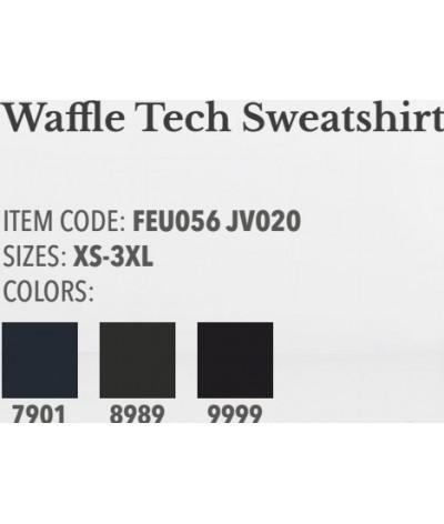 Cavalleria Toscana Waffle Tech Sweatshirt Men