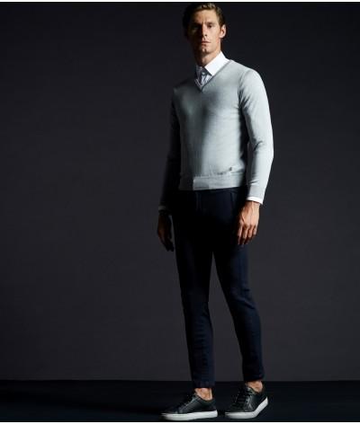 Cavalleria Toscana Tech Wool V-Neck Trui