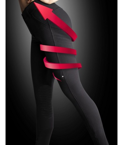 Equiline Woman Breeches X-Shape Knee Grip