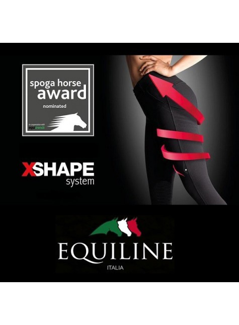 Equiline Dames Rijbroek X-Shape Knee Grip