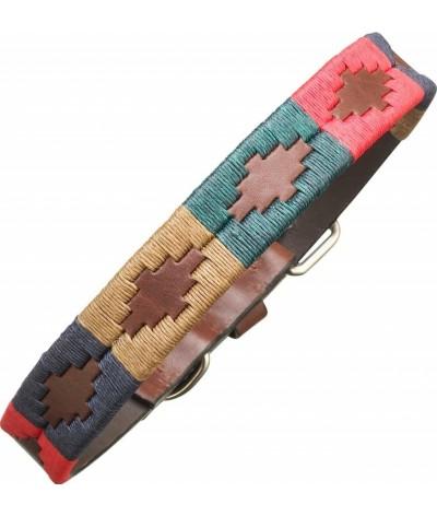 Pampeano Leather Dog Collar Navida