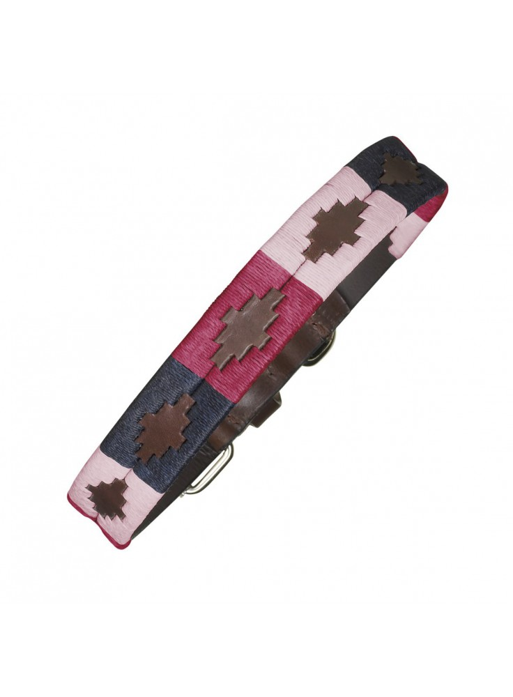 Pampeano Leather Dog Collar Petalo
